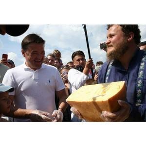Сырный фестиваль Сыр! Пир! Мир!