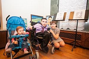 Выставка работ художника-инвалида Врежа Киракосяна в Краснодаре