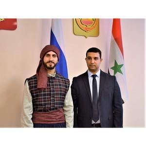 Сирийский студент - участник поэтического марафона Чувашии