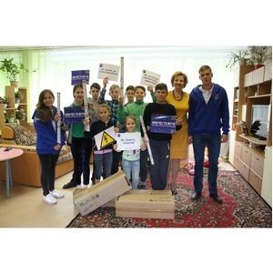 Энергетики Ивэнерго передали энергосберегающие лампы подшефному детскому дому «Радуга»
