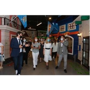 Открытие Технопарка в городе профессий «КидБург» в ЦДМ