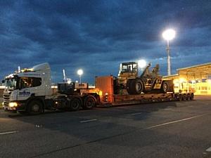 Nawinia осуществила доставку специальной портовой техники