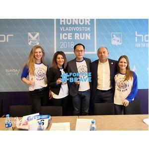 Во Владивостоке прошла пресс-конференция Международного ледового полумарафона