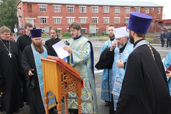 В ИК-40 ГУФСИН Кузбасса открыта мечеть и звонница для осужденных