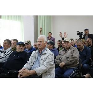 Активисты ОНФ в Башкортостане провели встречу с жителями села Нугуш