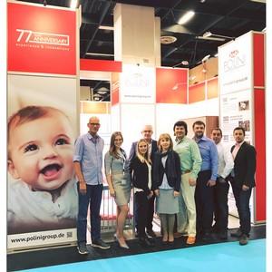 ГК Тополь представила бренд Polini kids на международной выставке