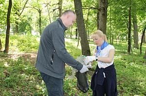 Воронежские активисты ОНФ навели порядок в Ботаническом саду