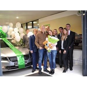 «Автопрага» и «Фольксваген Банк РУС» поздравили своего 100000 клиента