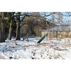 ОНФ призвал власти благоустроить двор четырех домов в Воронеже
