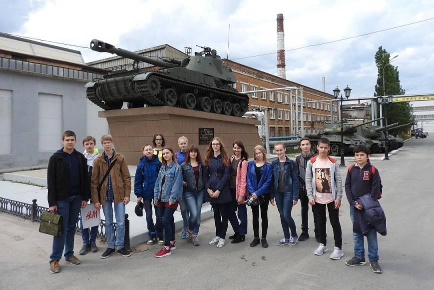 Студенты и учащиеся посетили АО «Уралтрансмаш»