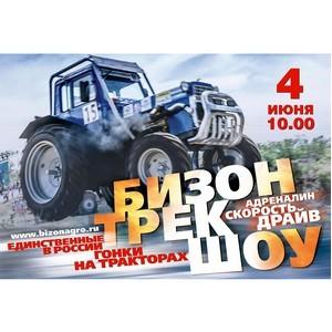 Пятнадцатые гонки на тракторах среди сельских механизаторов