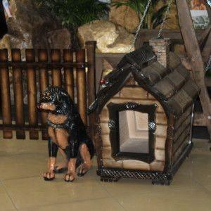 Деревянные беседки, а также будки для собак