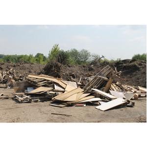 ОНФ просит надзорные органы разобраться со свалкой в водоохранной зоне Дона