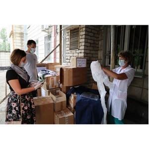 ОНФ передал более 5000 СИЗ в клинику Волгоградского медуниверситета
