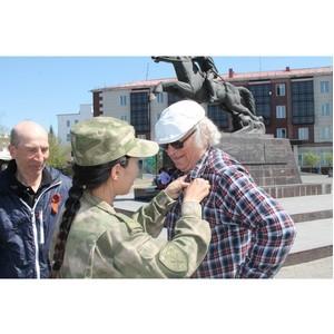 Росгвардия Тувы присоединилась к акции «Георгиевская ленточка»