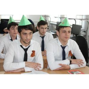 В Гуманитарно-техническом техникуме города Грозного прошло мероприятие к Дню Победы