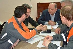 Энергетики «Т Плюс» приняли участие в интеллектуальной игре с командой  Волгатеха