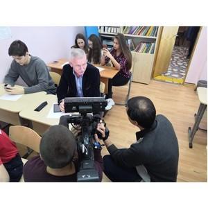 Депутат Московской областной Думы П.И. Максимович принял участие в географическом диктанте