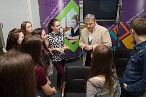 Юные журналисты «Юнпресс» посетили «Московский образовательный»