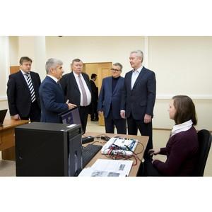 «Сити-XXI век» представила мэру Москвы новый учебный комплекс Высшей школы экономики