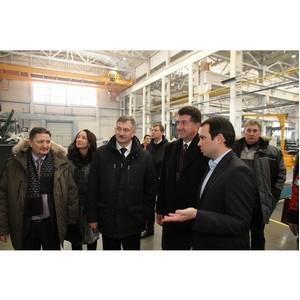 И.о. главы города Владивостока и глава города Брянска посетили «Брянский арсенал»