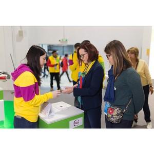 Заместитель Министра промышленности и торговли Г. Кадырова посетила экспозицию