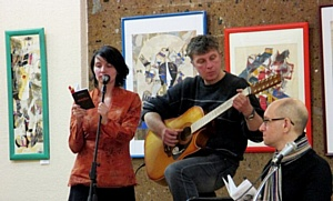 Поэты и музыканты объединили слово и музыку в цикле «Два голоса»