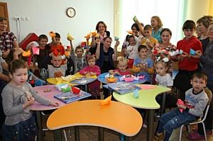 Чувашская энергосбытовая компания провела в Реабилитационном центре мастер-класс по оригами