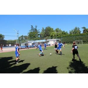В Севастополе состоялся турнир по мини-футболу среди сотрудников вневедомственной охраны