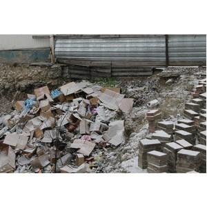 ОНФ в КБР поднял проблему нарушения санитарных норм при складировании мусора