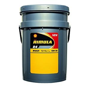 Новое масло Shell Rimula R4 Multi для тяжелонагруженных двигателей