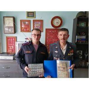 Сотрудники Росгвардии навестили ветерана вневедомственной охраны