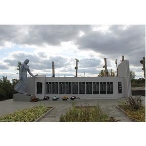 После обращений ОНФ власти реконструировали памятник в Хвощеватке