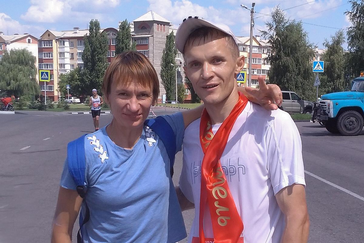 Стойленские спортсмены победили на международном легкоатлетическом марафоне