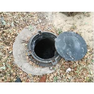 ОНФ попросил власти Воронежа решить проблему бесхозной канализации
