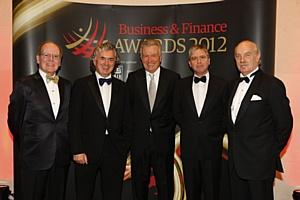 Основатель компании Alltech доктор Пирс Лайонс получил награду «Бизнесмен года»