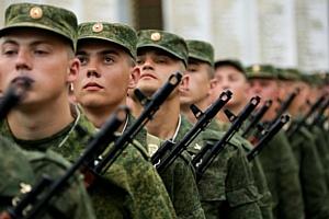 Студенты РАНХиГС приняли участие в акции «Военная служба по контракту – твой выбор!»