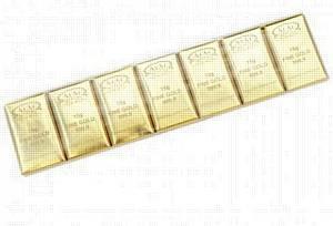 "Chocolates ""Pure gold"""