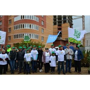 В Одинцовском районе Подмосковья «М1 Девелопмент» провела акцию по сохранению лесов