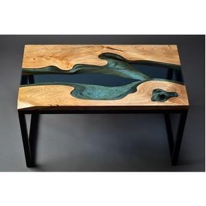 Реплика знаменитого стола Грега Классена от Fedorov-стекло