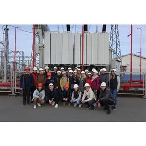 Экскурсия для будущих челябинских энергетиков