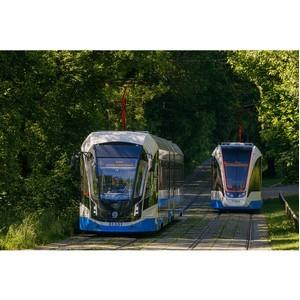 «ПК Транспортные системы» досрочно поставила 90 трамваев в Москву