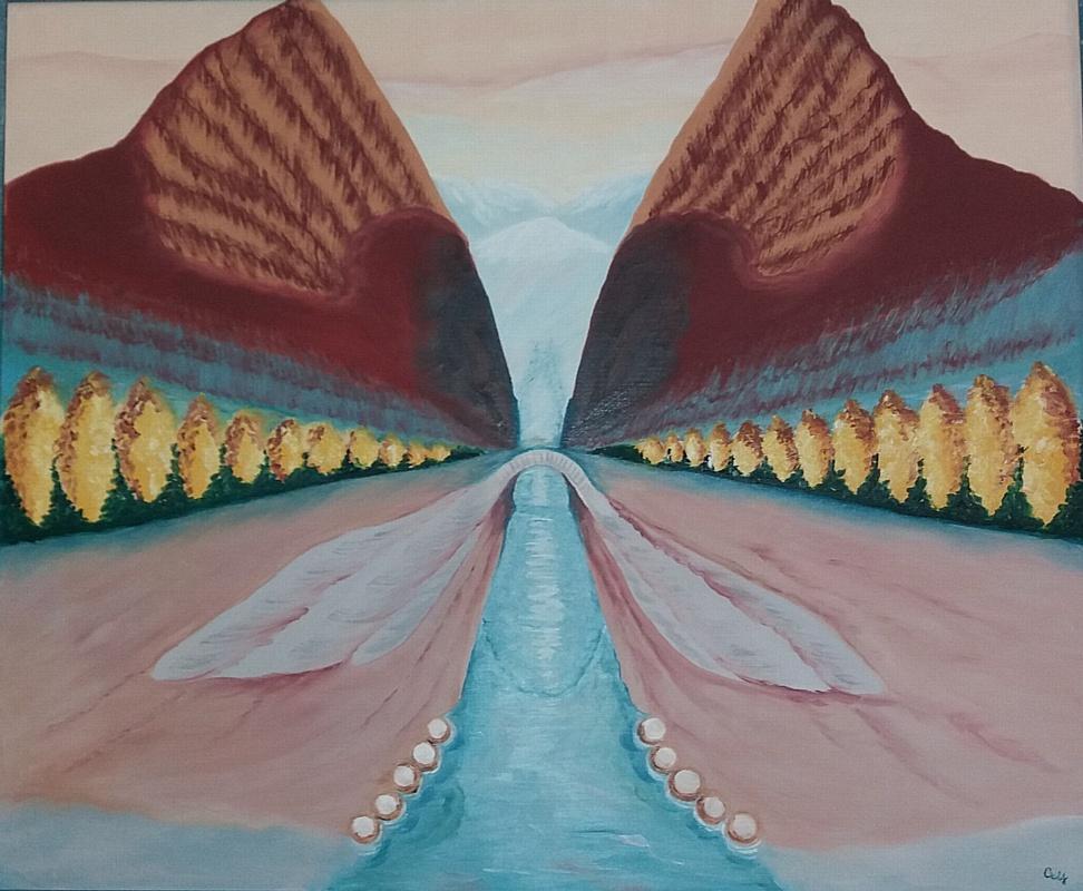 Выставка энергетических картин Светланы Мучновой (Тверь)