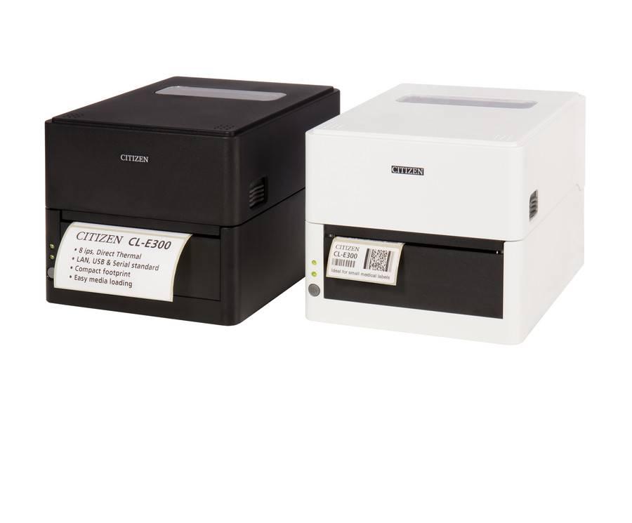 В Инсотел современные компактные принтеры этикеток Citizen CL-E300 со склада в Москве