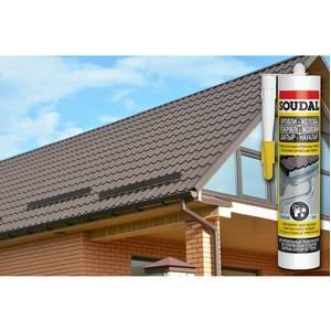«Скорая помощь» при ремонте крыш и водостоков от Soudal