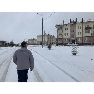 ОНФ помог подключить поселок в Новой Москве к коммунальным системам