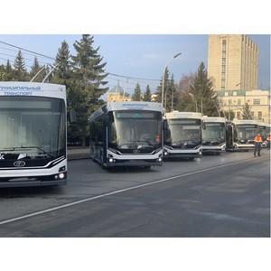 «ПК Транспортные системы» поставила в Омск 29 троллейбусов «Адмирал»