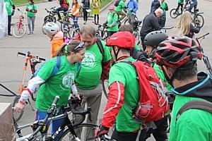 Общероссийский велофлешмоб в поддержку здорового образа жизни «Велосипед лучше сигарет!»