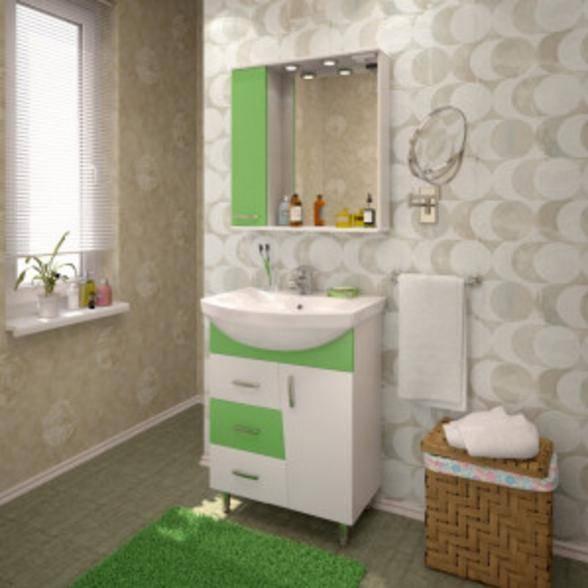 Мебель для ванной комнаты Eva Gold