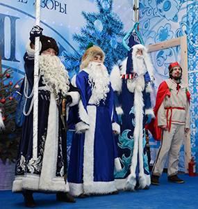 Рождественское настроение на Московской площади